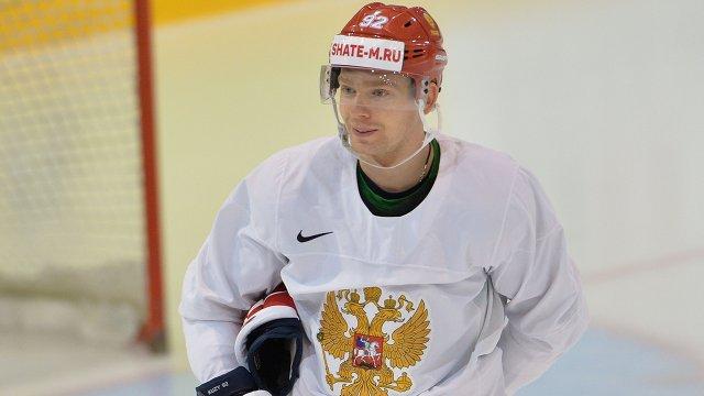 Форвард сборной России Евгений Кузнецов