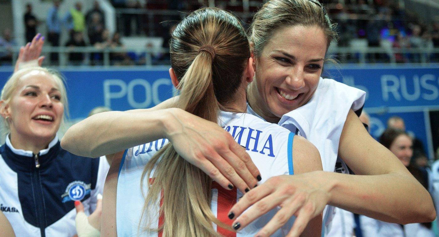 Майя Поляк и Екатерина Любушкина (справа налево)
