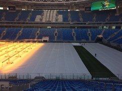 Поле стадиона Зенит-Арена