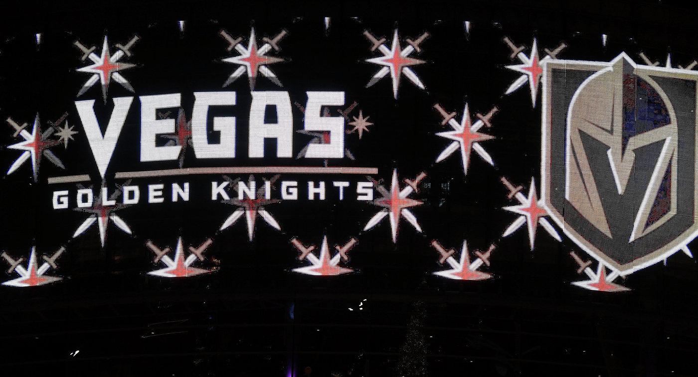 Логотип дебютанта НХЛ клуба Вегас Голден Найтс