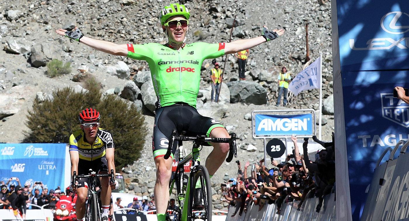 Американский велогонщик Эндрю Талански из команды Cannondale Drapac