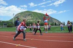 Фестиваль ГТО в Артеке в рамках международной детской ассамблеи Вечный огонь