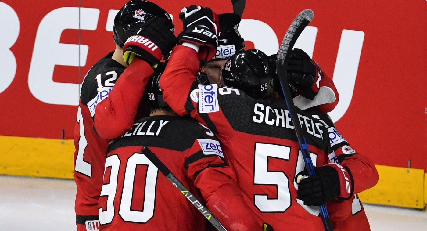 Сборная Канады победила «Маунтфилд» наКубке Шпенглера