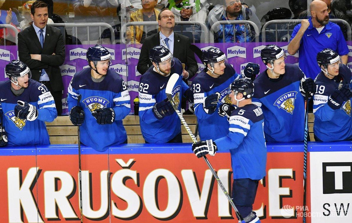 Игроки сборной Финляндии