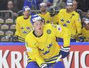 Форвард сборной Швеции Вильям Нюландер
