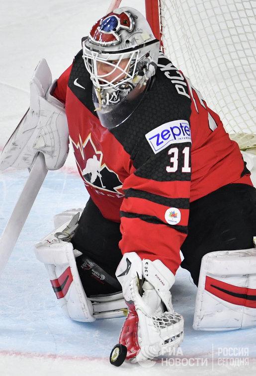 Вратарь сборной Канады Кэлвин Пикар