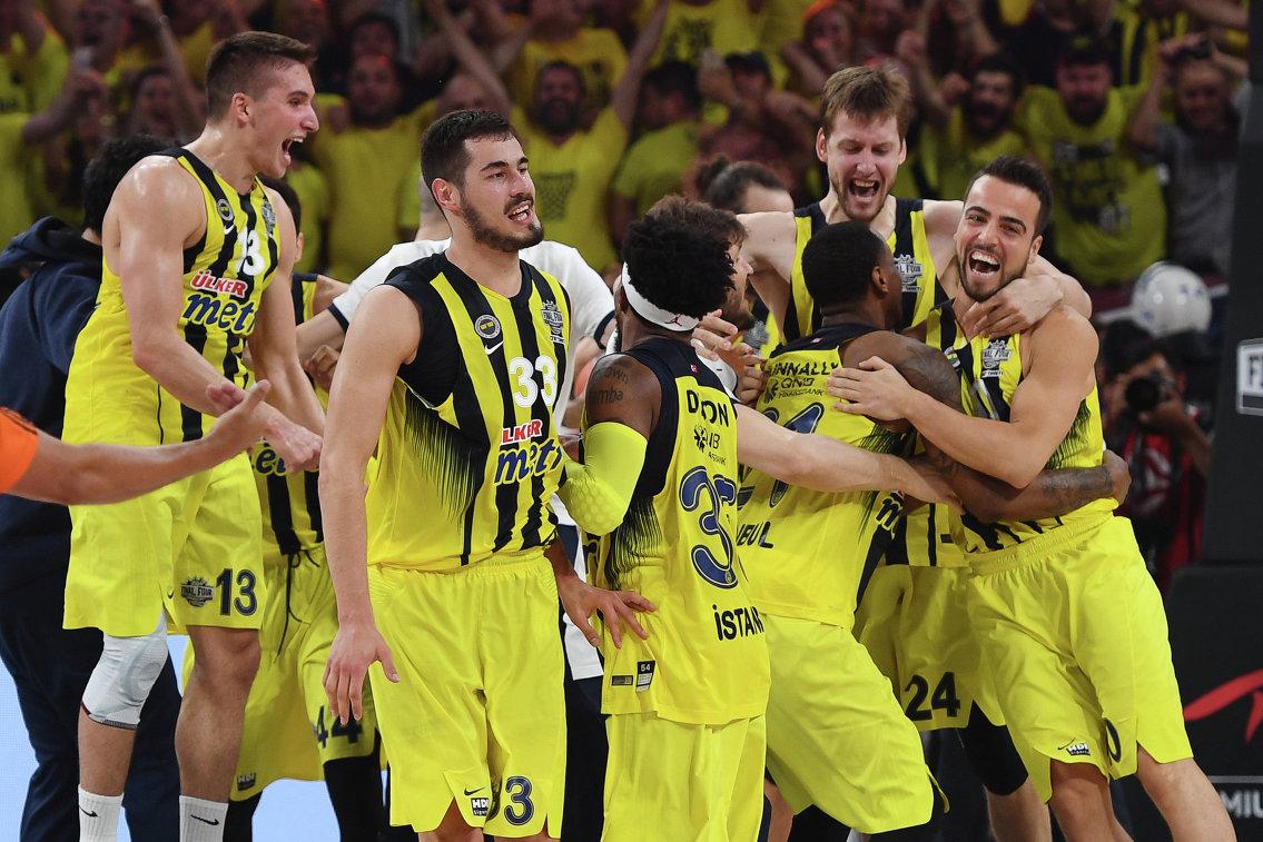 Баскетболисты турецкого Фенербахче