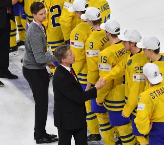 Игроки сборной Швеции