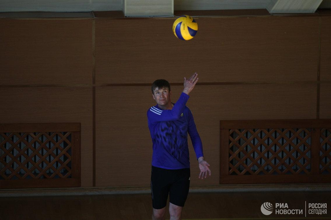 Старший тренер мужской сборной России по биатлону Андрей Падин