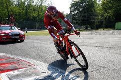 Российский велогонщик команды Katusha-Alpecin Ильнур Закарин
