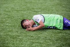 Участник футбольного турнира МегаФона среди детских домов и школ-интернатов Будущее зависит от тебя