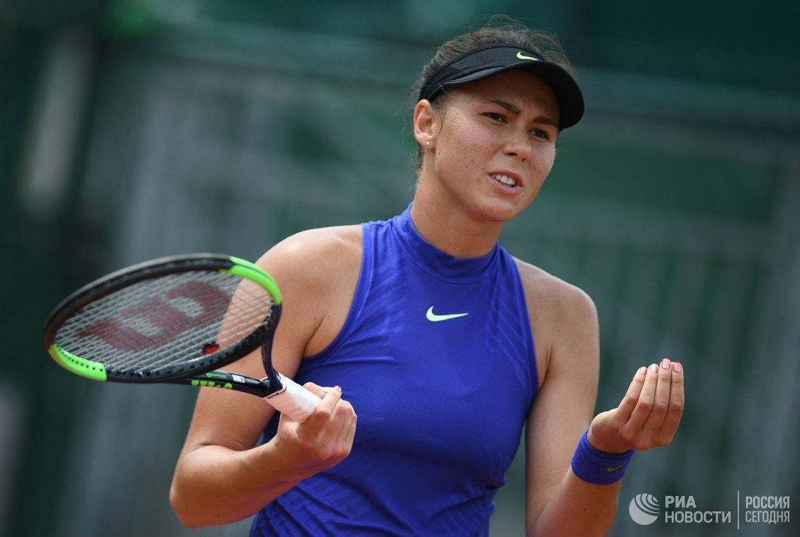 Вихлянцева проиграла Бертенс в первом круге турнира в Хертогенбосе