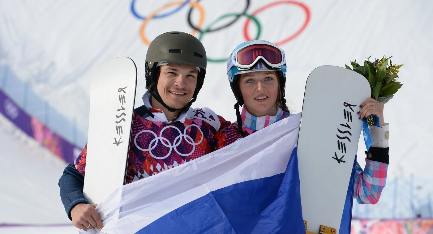 Вик Уайлд и Алена Заварзина (слева направо)