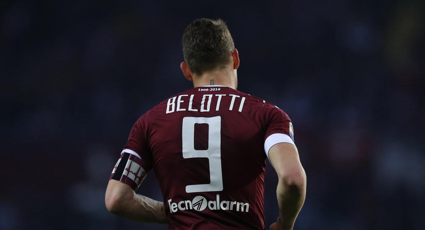 Нападающий итальянского Торино Андреа Белотти