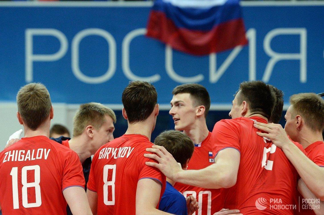 Волейболисты сборной России обыграли канадцев в стартовом матче Лиги наций