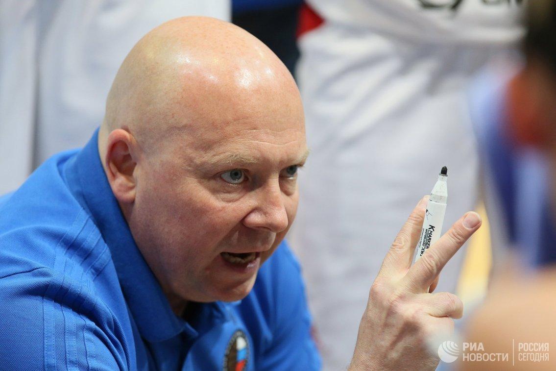 Главный тренер женской сборной России по баскетболу Александр Васин