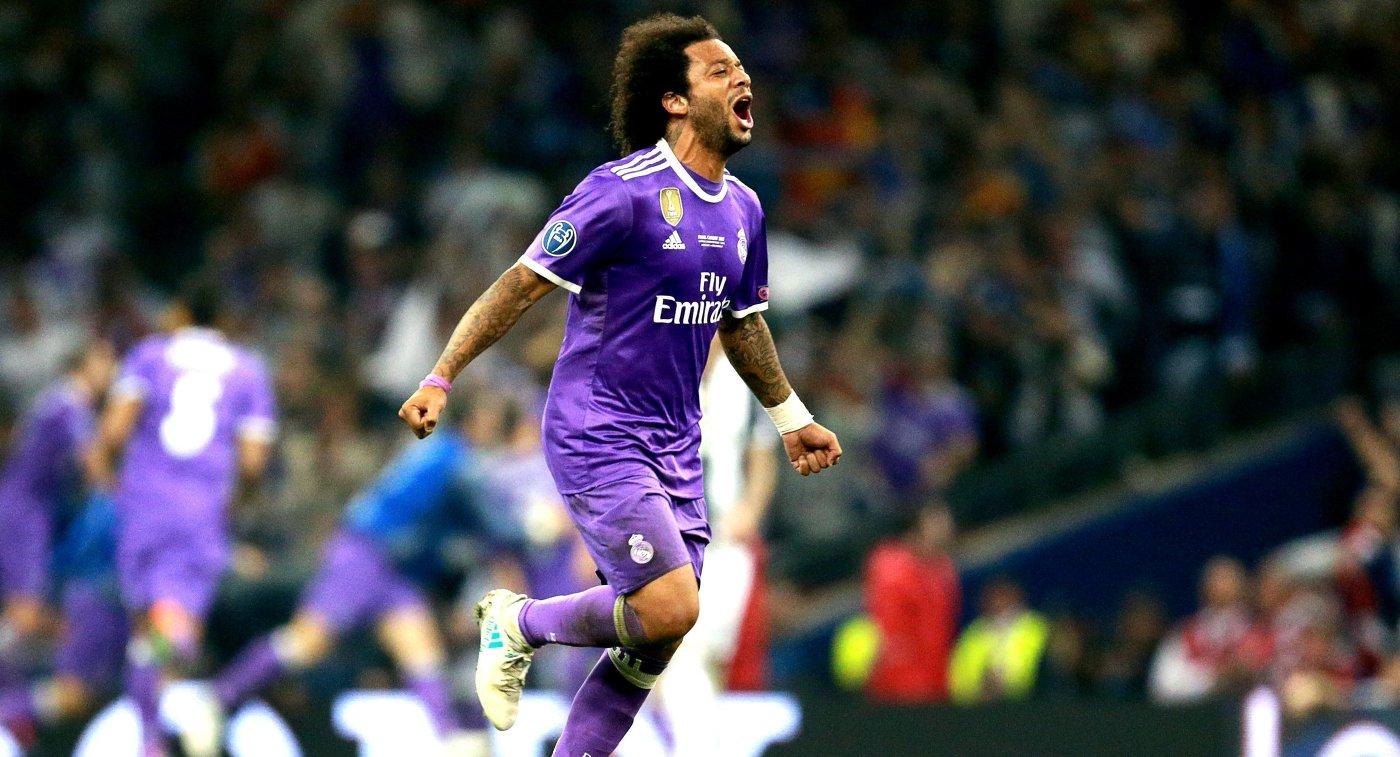 Защитник ФК Реал Мадрид Марсело