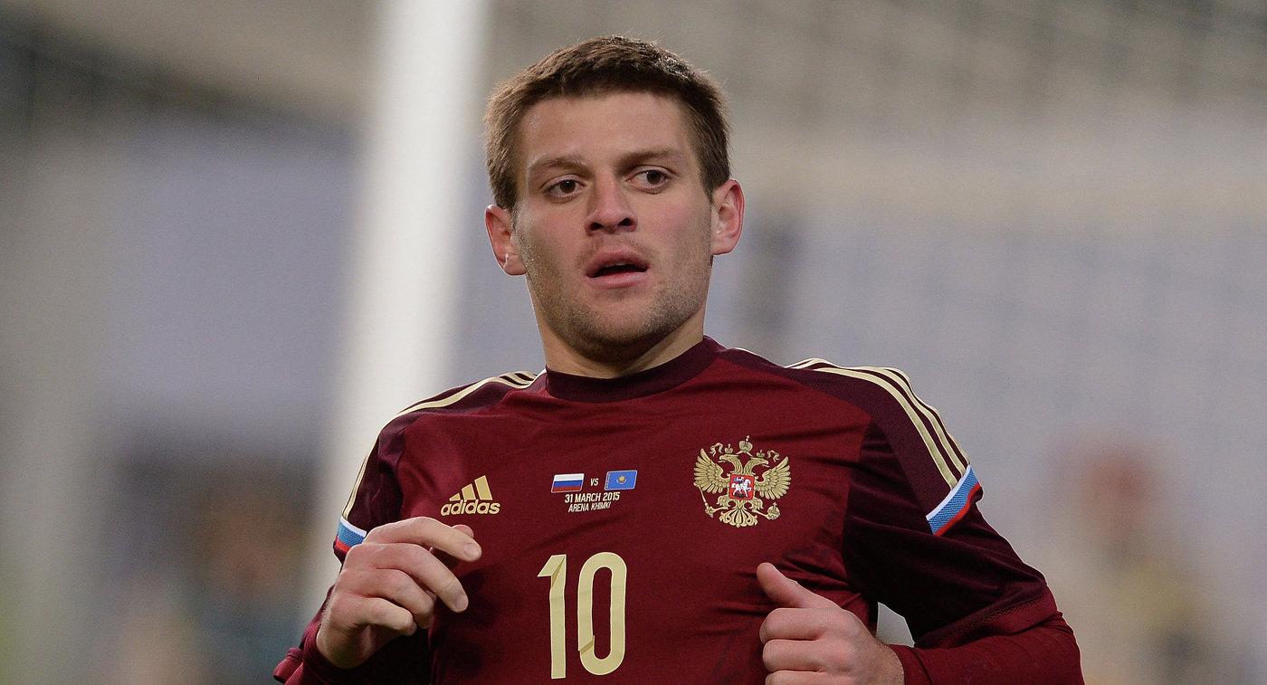 Футболист «Рубина» Руслан Камболов вызван всборную России натоварищеские матчи