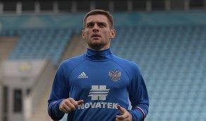 Защитник сборной России Руслан Камболов