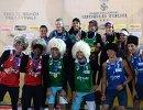Призеры московского этапа Мирового тура по пляжному волейболу