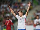 Нападающий Зенита и сборной России Дмитрий Полоз