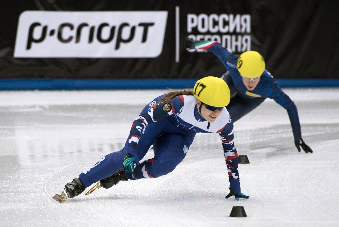 Омичка Бородулина стала призером этапа Кубка мира пошорт-треку