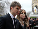 Андрей Аршавин с супругой Юлией (Самые громкие расставания спортсменов)