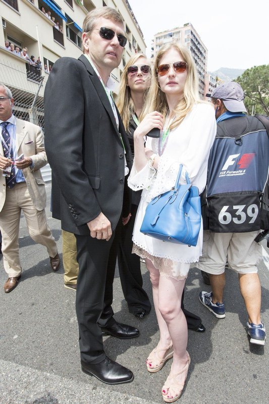 Дмитрий Рыболовлев с семьей на Гран-при Монако-2012