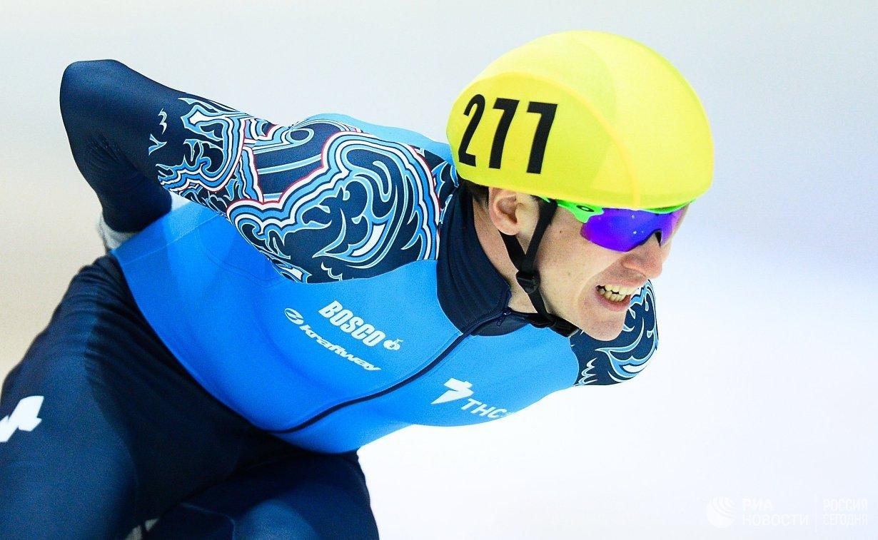 Руслан Захаров на дистанции 1500 м