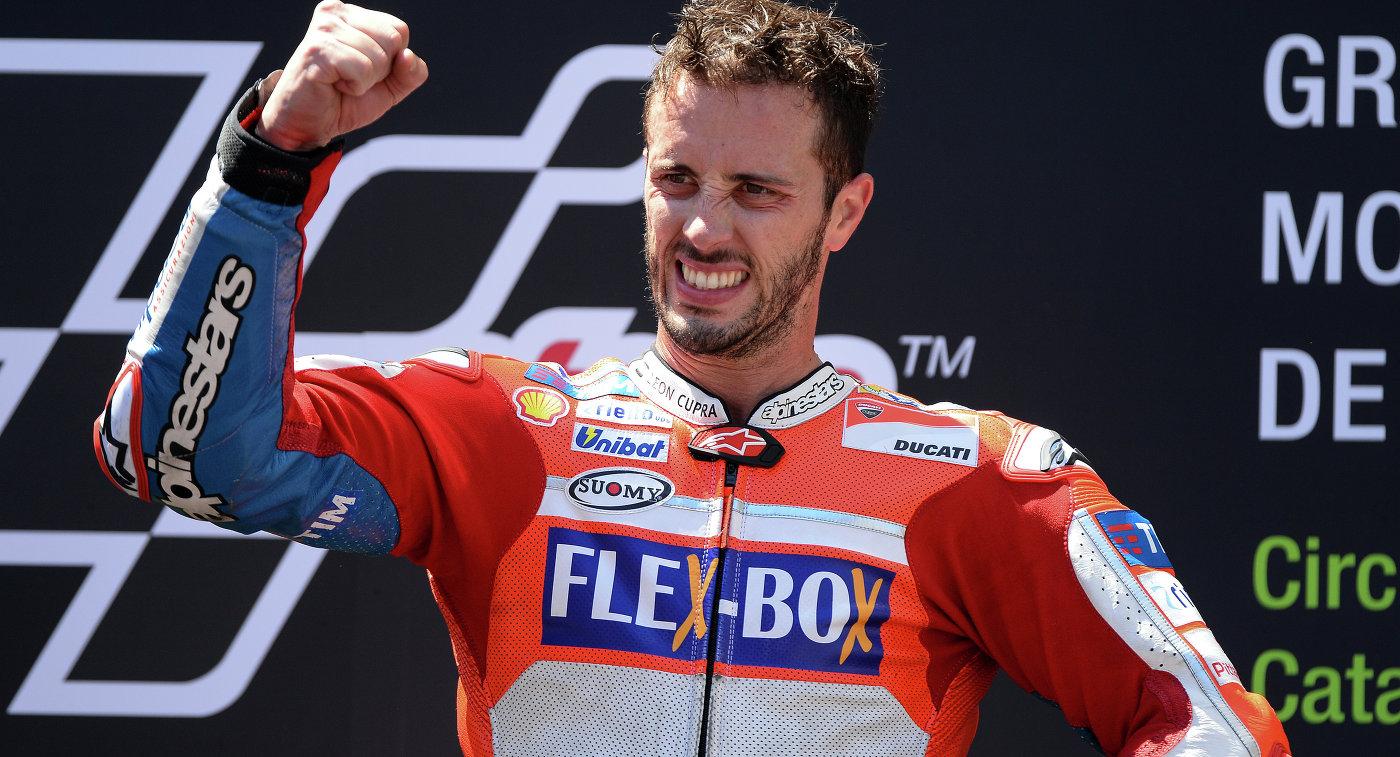 Итальянский мотогонщик Андреа Довициозо выиграл Гран-при Малайзии MotoGP