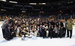 Хоккеисты и тренерский штаб Питтсбурга