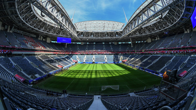 """Стадион """"Санкт-Петербург"""" готовится побороться за финал главного еврокубка"""