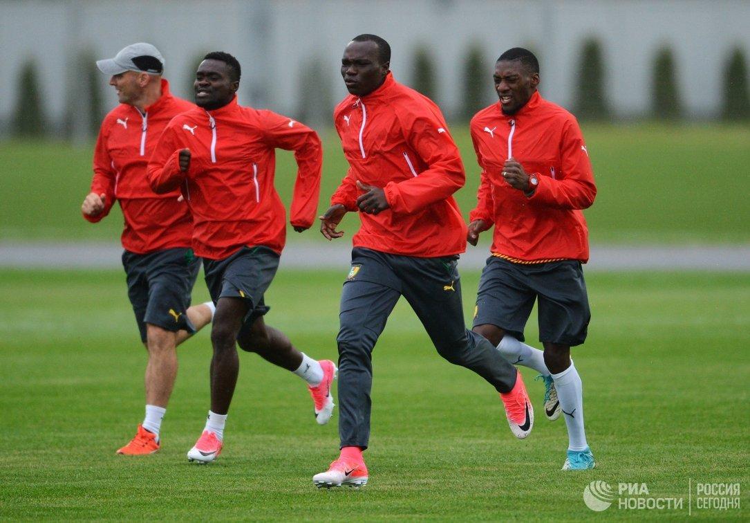 Игроки сборной Камеруна по футболу
