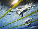 Женская эстафета на чемпионате мира по водным видам спорта