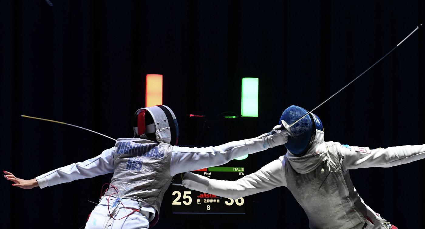 Россиянка Аделина Загидуллина (слева) и итальянка Элис Волпи