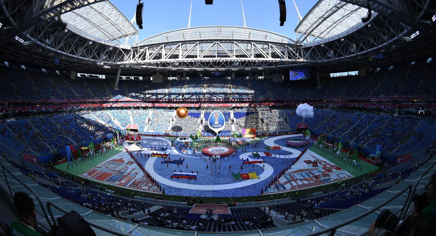 Церемония открытия Кубка конфедераций-2017