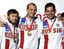 Никита Глазков, Сергей Ходос, Вадим Анохин и Павел Сухов (слева направо)
