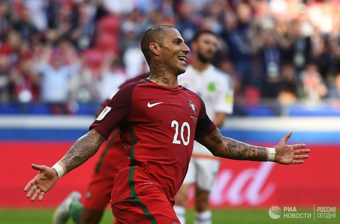 Полузащитник сборной Португалии по футболу Рикарду Куарежма