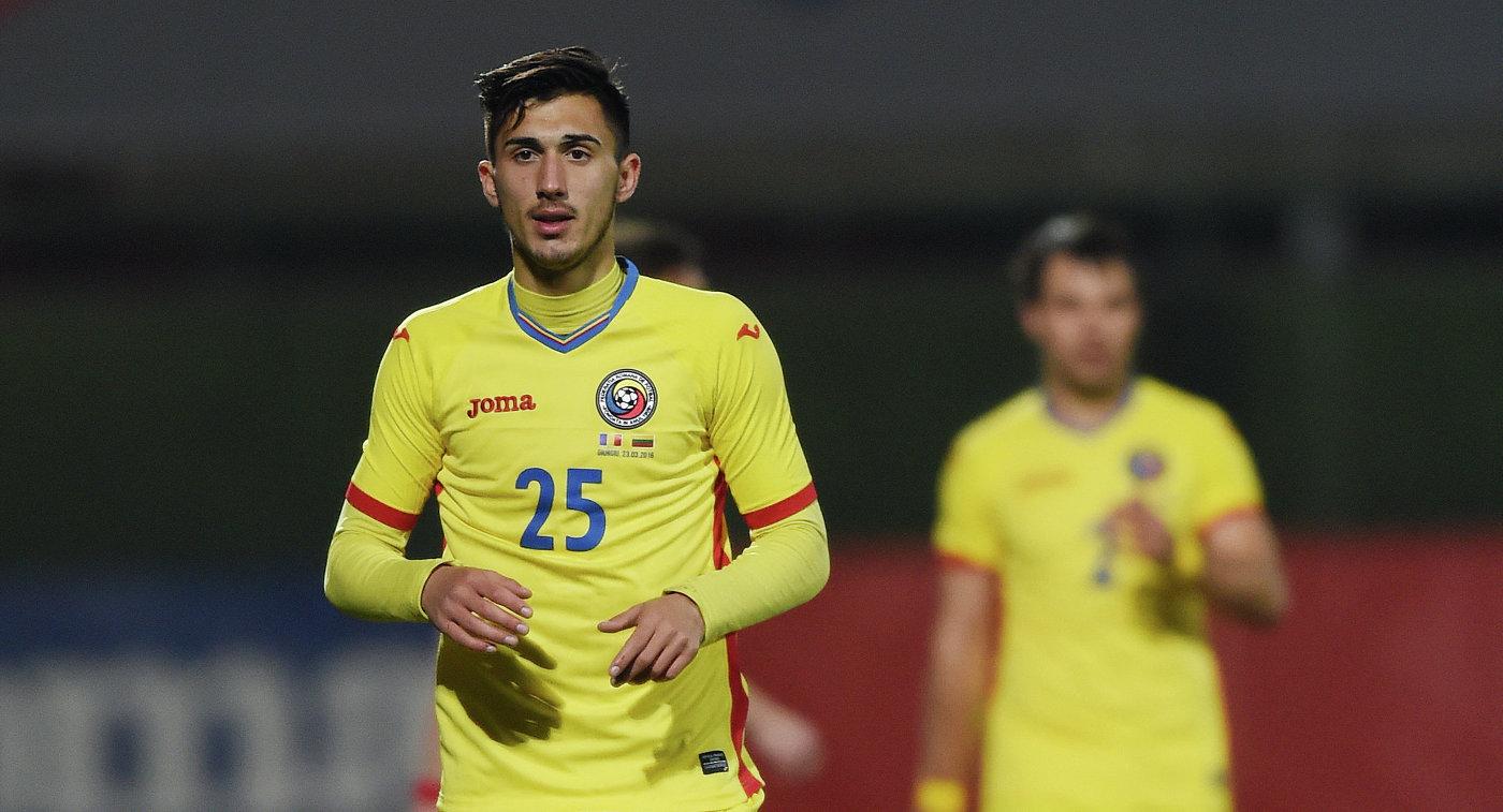 Футболист сборной Румынии Андрей Иван