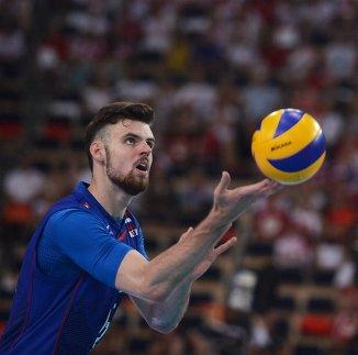 Волейболист сборной России Егор Клюка