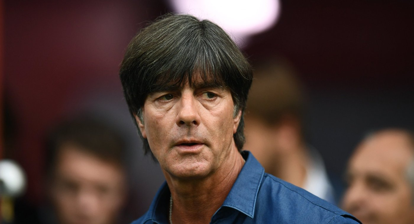 Главный тренер сборной Германии по футболу Йоахим Лёв