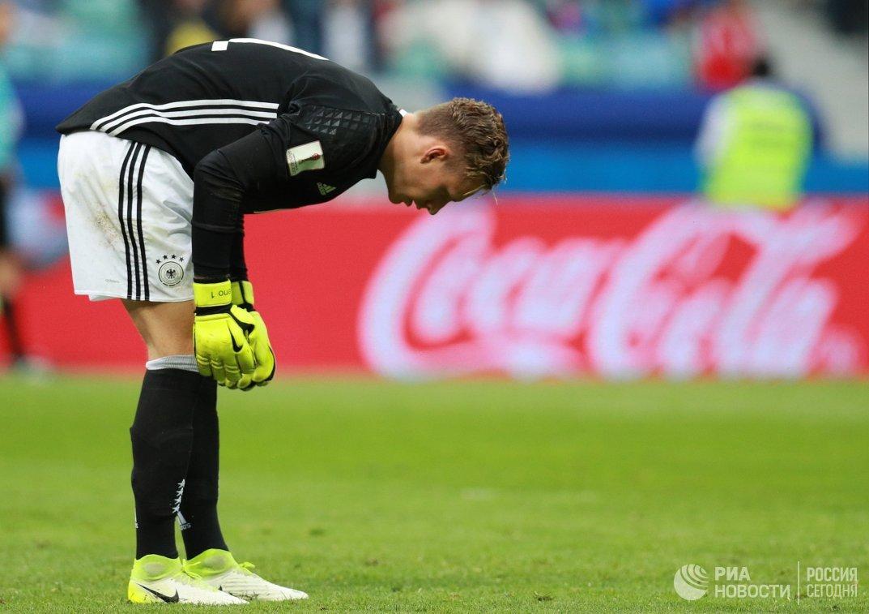Вратарь сборной Германии по футболу Бернд Лено