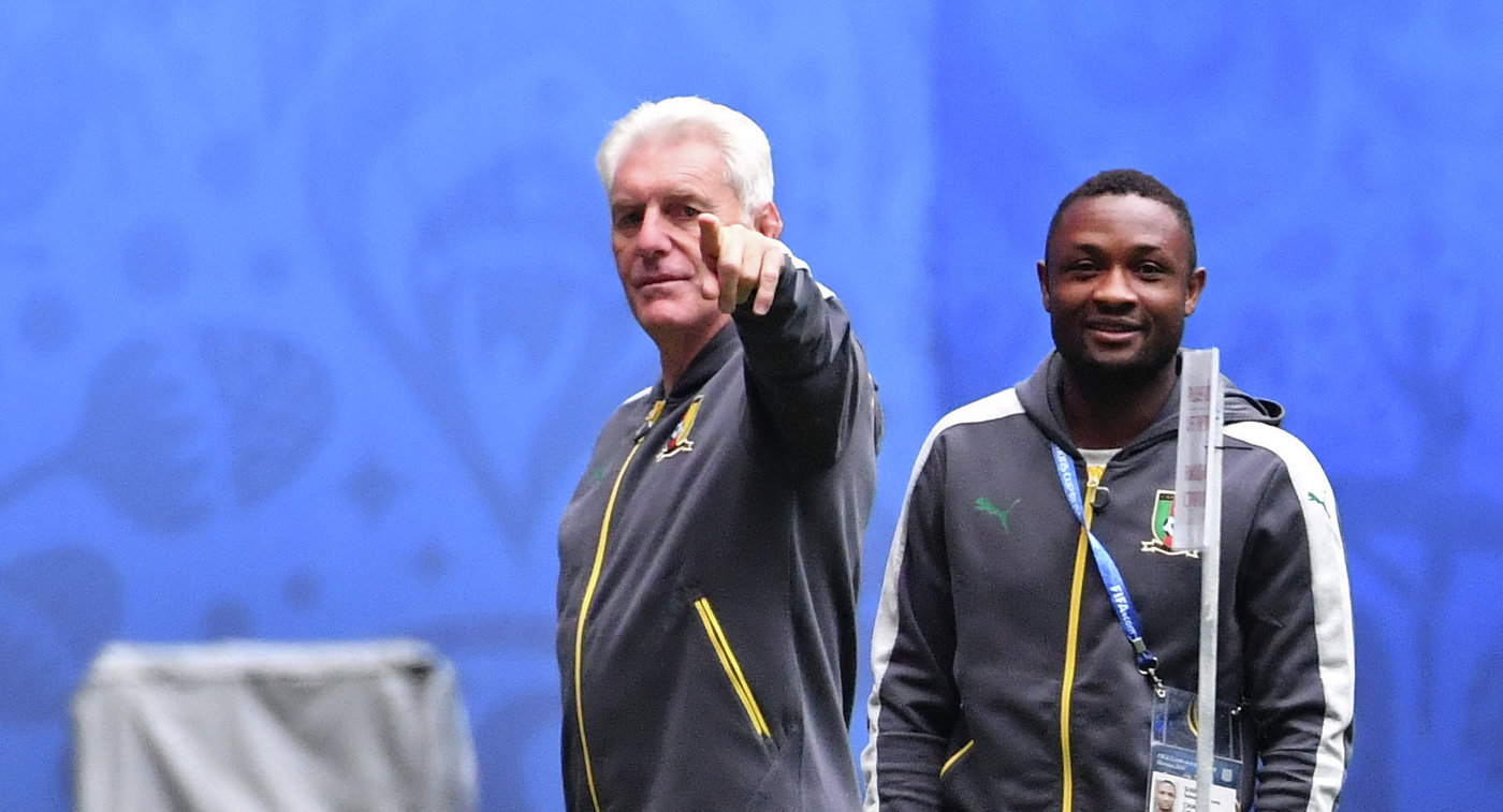 Сборная Камеруна осталась без основного тренера