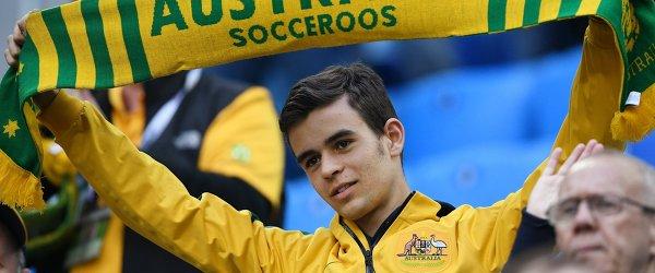 Болельщик сборной Австралии