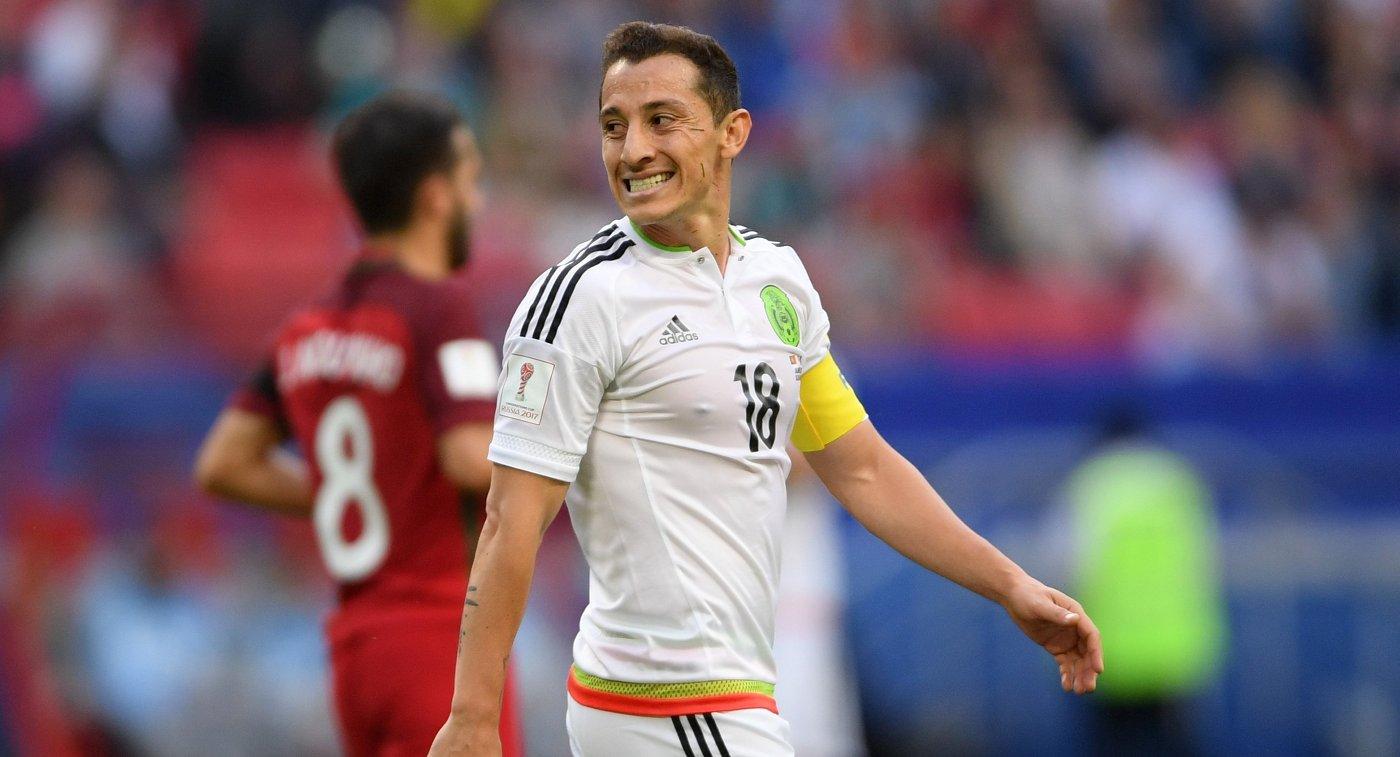 Полузащитник сборной Мексики по футболу Андрес Гуардадо