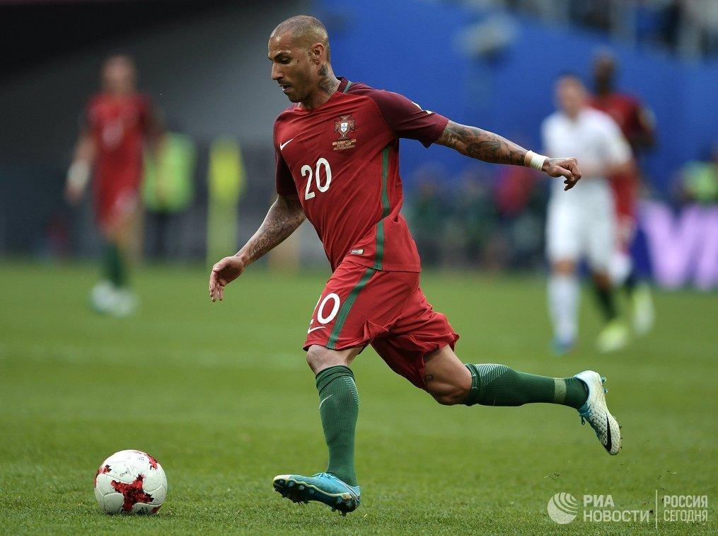 Полузащитник сборной Португалии Рикарду Куарежма