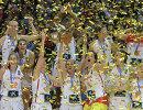 Баскетболистки сборной Испании