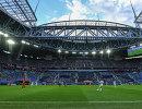 Арена  Санкт-Петербург во время матча Кубка конфедераций-2017 между сборными России и Новой Зеландии