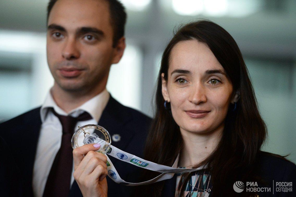 Член женской сборной России по шахматам Екатерина Лагно