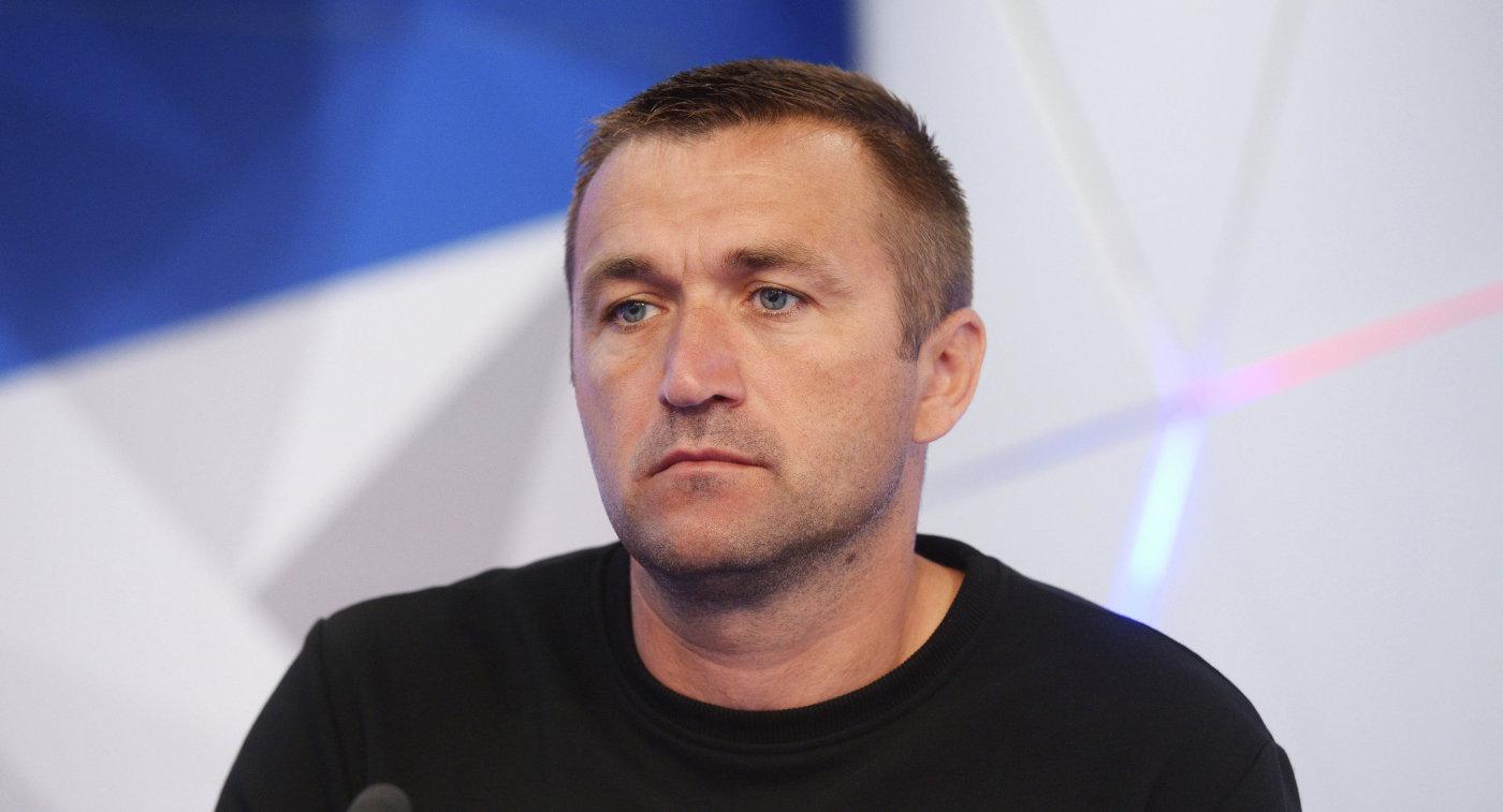 Главный тренер ПФК Спартак (Москва) Руслан Пернай
